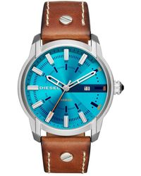 DIESEL - Armbar Brown Watch - Lyst