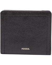 Fossil Logan Rfid Bifold Wallet - Black