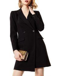 Karen Millen - Tuxedo Dress - Lyst