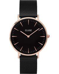 Cluse | La Boheme Mesh Rose Gold | Lyst