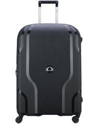 Delsey Clavel 71cm Large Suitcase - Black