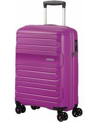 American Tourister Sunside 77cm Large Suitcase - Purple