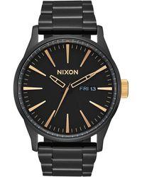 Nixon - Sentry Ss Watch - Lyst