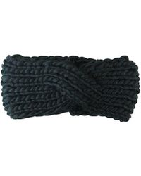 Morgan Taylor - Chunky Knit Turban Headband - Lyst