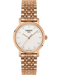 Tissot - Everytime/lr/q/rosa/silver Dia - Lyst