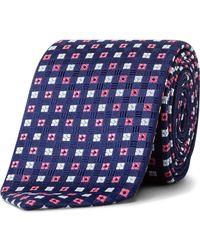 Eton of Sweden - Neat Floral Tie - Lyst