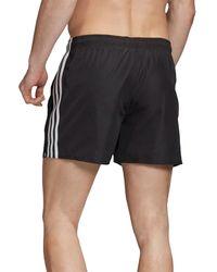 adidas 3 Stripe Short Very-short-length - Black