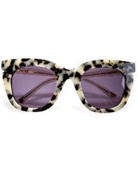 Pared Eyewear - Pools & Palms In Cookies And Cream - Lyst