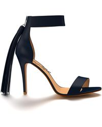 Shoes Of Prey - Heeled Sandal With Ankle Cuff - Lyst