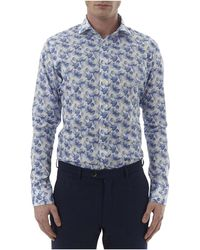 Simon Carter - Pineapple Print Single Cuff Shirt - Lyst