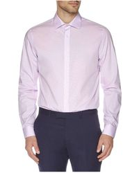 Ben Sherman - Micro Check Kings Slim Fit Shirt - Lyst