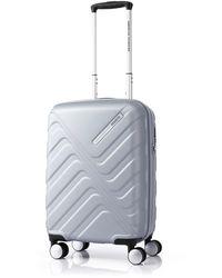 American Tourister Flashflux Spinner 55/20 Tsa Silver - Metallic