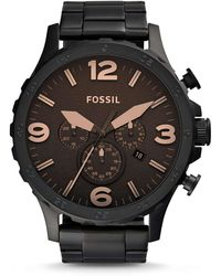 Fossil Nate Black Watch