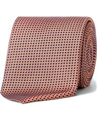 Eton of Sweden - Spot Geometric Tie - Lyst
