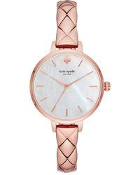 Kate Spade - Metro Pink Watch - Lyst
