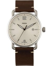 Fossil - The Commuter Brown Watch - Lyst