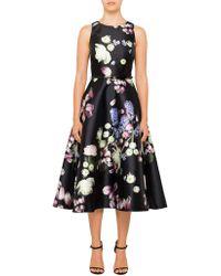 Ted Baker - Rosa Kensington Floral Midi Dress - Lyst