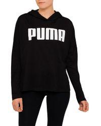 PUMA - Urban Sports Logo Hoody - Lyst