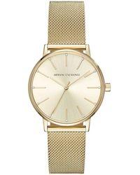 Armani Exchange - Lola Gold Watch - Lyst