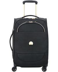Delsey Montrouge 55cm Small Suitcase - Black