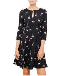Armani Jeans - Floral Dress - Lyst