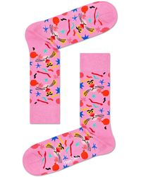 Happy Socks Pink Panther Bomb Voyage
