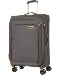 American Tourister Applite 4.0 55cm Small Suitcase - Gray