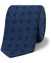 Calvin Klein - Simple Floral Tie - Lyst