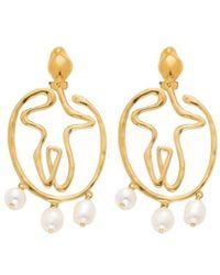 Chloé Femininities Earrings - Metallic