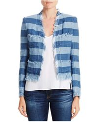 AG Jeans - Capucine Stripe Jacket - Lyst