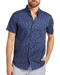 The Academy Brand - Humphrey S/s Shirt - Lyst