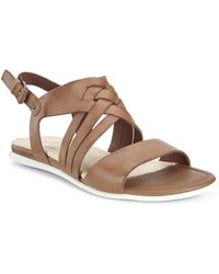 Ecco - Touch Sandal Whisky Sambal - Lyst