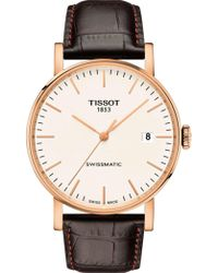 Tissot - Everytime/gr/a/rosa/silver Dial - Lyst
