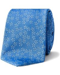 Simon Carter - Ditsy Floral Tie - Lyst