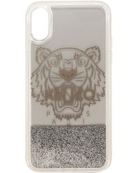 2048769c Iphone X+ Tiger Head Glitter - Metallic