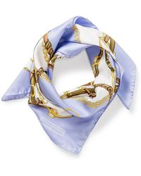 Aspinal - Scarf Horse Shoe - Lyst