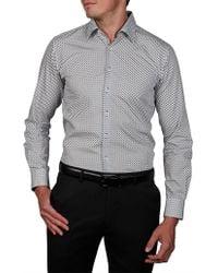 Geoffrey Beene - Yosemite Print Body Fit Shirt - Lyst