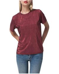 Shakuhachi - Cherry Bomb Tie Back Top - Lyst
