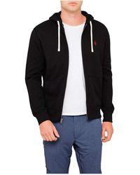 Polo Ralph Lauren Classic Full-Zip Fleece Hoodie - Black
