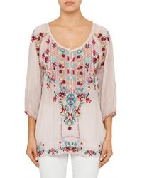 Johnny Was - Dolora Blouse - Lyst
