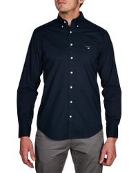 GANT - The Plain Broadcloth Reg Bd - Lyst