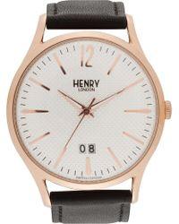 Henry London - Richmond Watch - Lyst