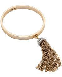 Lulu Frost Ursula Tassel Bracelet - Metallic