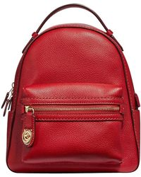 COACH - Polished Pebble Campus Backpack 23 - Lyst