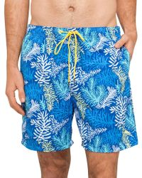 Tommy Bahama - Naples Coral Sagan Swim Short - Lyst