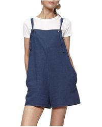 MINKPINK - Decked Out Knot Playsuit - Lyst