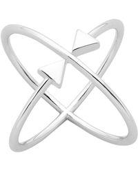 Karen Walker - Atomic Arrows Ring Med - Lyst