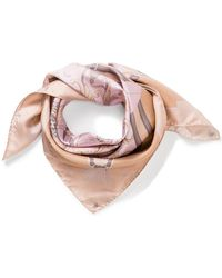Aspinal - Colour Blocked Signature Scarf - Lyst