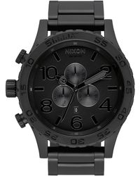 Nixon 51-30 Chrono Watch - Black