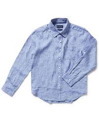 The Academy Brand - Newport Linen Shirt - Lyst